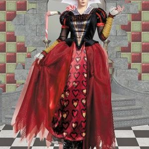 "Red Queen ""Alice in Wonderland "" Costume"
